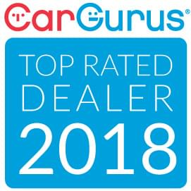 2018 Car Gurus top rated dealer